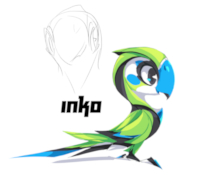 Konni the cyber parrot